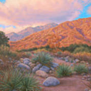 Eaton Canyon Sunset Art Print