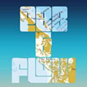 Ebb And Flow Bahamas Art Print