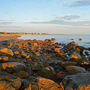 Ebb Tide On Cape Cod Bay Art Print