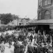 Ebbets Field Crowd 1920 Art Print