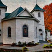 Ebenezer United Methodist Church Art Print