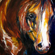 Ebony Night Equine Art Print