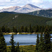 Echo Lake Colorado Art Print