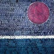 Eclipse Original Painting Art Print