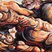 Ecstasy Maximus  Art Print