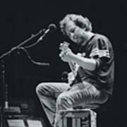 Eddie Vedder Playing Live Art Print