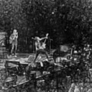 Eddie Vedder Rock God Pose Pearl Jam Art Print