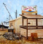 Eddies On The Creek Belford Nj Art Print