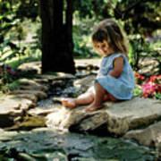 90140 Eden Joy Srf Garden Art Print