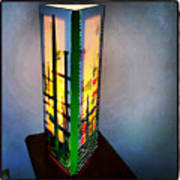 Eden Lamp Art Print