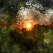 Edens Sunrise Art Print