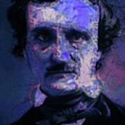 Edgar Allan Poe, Artsy 1 Art Print