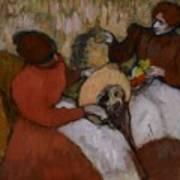 Edgar Degas - The Milliners - 1898 Art Print