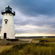 Edgartown Lighthouse Cape Cod Art Print