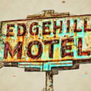 Edgehill Sketched Art Print