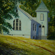 Edgemont Baptist Church Art Print