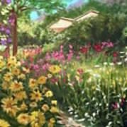 Edie's Garden Art Print