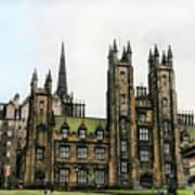 Edinburgh Architecture 3 Art Print