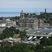 Edinburgh Castle View #3 Art Print