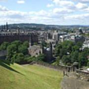 Edinburgh Castle View #6 Art Print