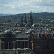 Edinburgh Castle View #9 Art Print