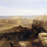 Edinburgh From The Castle Art Print