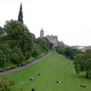 Edinburgh Park  Art Print