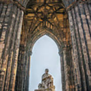 Edinburgh Sir Walter Scott Monument Art Print