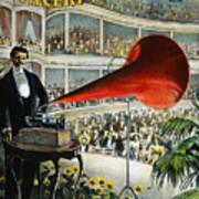Edison Phonograph Ad, 1899 Art Print by Granger