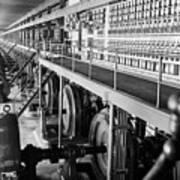 Edison Sault Power Plant At Sault Ste Art Print