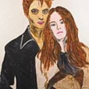 Edward And Bella Art Print