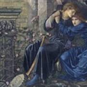 Edward Burne-jones, Love Among The Ruins, 1894 Art Print