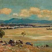 Edward Cairns Officer 1871-1921 Landscape Art Print