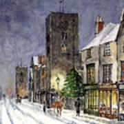 Edwardian Oxford Art Print