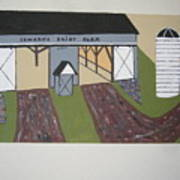 Edwards Dairy Farm Art Print
