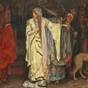 Edwin Austin Abbey 1852-1911 King Lear, Cordelias Farewell Art Print