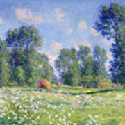 Effect Of Spring At Giverny Art Print