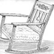 Effie's Chair Art Print