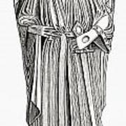 Effigy Of King John On His Tomb In Art Print