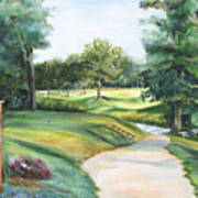 Effingham Country Club Art Print