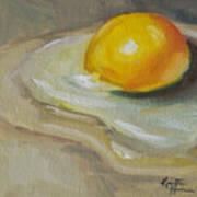 Egg Yolk No. 1 Art Print