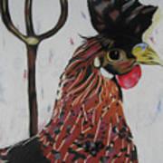 Egg Zactly Art Print