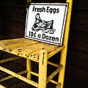 Eggs For Sale Art Print
