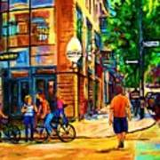 Eggspectation Cafe On Esplanade Art Print