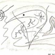 Egozentrik 17106 Art Print