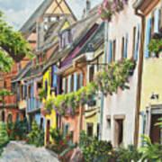 Eguisheim In Bloom Art Print