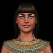 Egyian Princess Portrait Art Print
