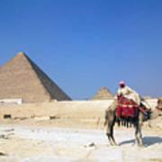 Egypt - Pyramid Art Print