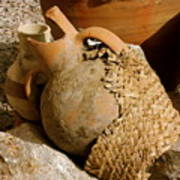 Egypt Bedouin Pots Art Print