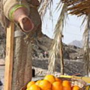Egypt Oranges At The Oasis Art Print